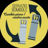 Logo servizio bombole pieno vs. vuoto