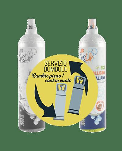 Ricarica Bombole Gas-Up 1000gr