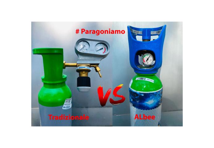 Immagine In evidenza Bombola Tradizionale vs Bombola ALbee #paragoniamo