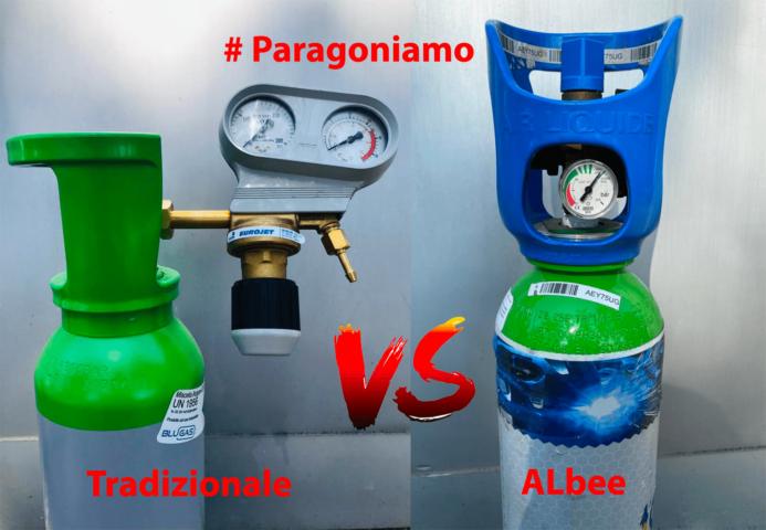 #Paragoniamo Bombola Tradizionale vs. Bombola ALbee