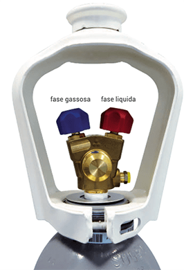 Valvola bombola Refrigerante CO2 R744